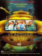 THE LIFE AQUATIC WITH STEVE ZISSOU Movie POSTER 11x17 Russian Bill Murray Owen
