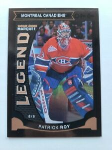 2015-16 O-Pee-Chee PATRICK ROY Marquee Legend #012/100