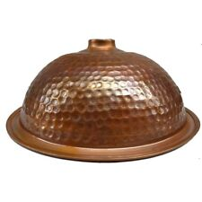 hammered Distressed Industrial Rustic Copper Dome Ceiling Pendant Lamp Shade