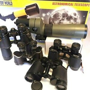 TELESCOPES, BINOCULARS + PARTS and OTHER - click SELECT to view INDIVIDUAL items