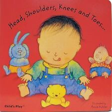 Head, Shoulders, Knees and Toes... Kubler, Annie Board book