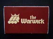 LIAISON RESTAURANT & LOUNGE THE WARWICK 1776 GRANT DENVER 303 8612000 MATCHBOX