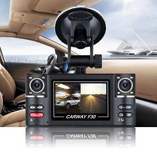 "HD 1080P Car DVR Vehicle Camera Digital Video Recorder Dash Cam Dual lens 2.7"""
