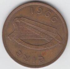 Irish Ireland Penny 1966 EIRE