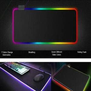 Large Gaming Mouse Pads Oversize Desk Pad Table Mat Lot Color 20/40/60/90/120cm