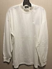 058991966593 VERSACE ISTANTE MENS WHITE STAND UP NECK LONG SLEEVE SHIRT EU SIZE 52 US L