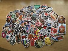 100 STICKER BOMB PACK EURO DUB VW DRIFT SHOWCAR SKATEBOARDING SCOOTER VINYL
