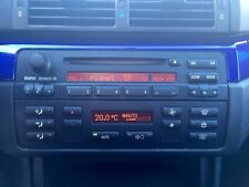 "BMW E46 Business CD Radio ALPINE MP3 USB SD Handy BLUETOOTH + Zubehör ""WIE NEU"""