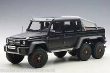 MERCEDES-BENZ G63 AMG 6X6 MATT BLACK 1:18 AUTOART 76302 BRAND NEW RELEASE IN BOX