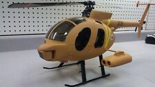 Hughes MD500 Defender 450 Scale Helicopter Fuselage for Align T-Rex EXI CopterX