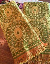 Vintage Cannon Monticello MCM Set Of Two Towels