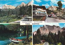 Österreich Tirol Fernpass Lkw Oldtimer Eckknicke