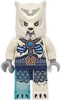 ICE BEAR WARRIOR 2 70230 Legends of Chima LEGO Tribal Minifigure Minifig Figure