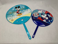 Dai-ichi Life Disney Mickey Mouse Plastic Hand Fan Set of 2