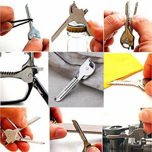 Chain knife blade utility Multi-tool can TECH Key opener screwdriver