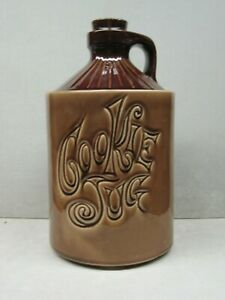 Vintage McCoy USA MOONSHINE Cookie Jar Jug