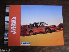 Suzuki Grand Vitara Prospekt / Brochure / Depliant, B (NL), 12.2001