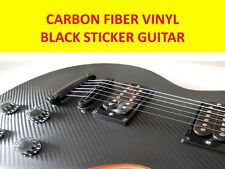 STICKER VINYL CARBON FIBER TO DECORATE GUITAR BODY TYPE TOKAI LTD EPIPHONE LP