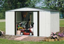 Arrow Newburgh Shed 10x8 Nw108-A Storage Shelter Galvanized Steel