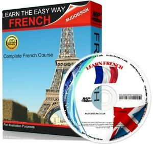 French Audio CD - Complete Language Course FREE P&P