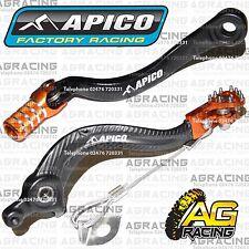 Apico Black Orange Rear Brake Gear Pedal For KTM SX 125 2005 Motocross Enduro