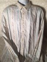 Marc Ecko Mens Long Sleeve Button Up Shirt X Large