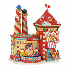 Dept 56 North Pole Village Series Candy Crush Factory 4056669 NEW Lighted NIB
