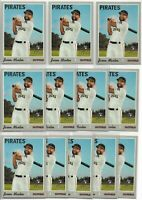 2019 Topps Heritage High Number Jason Martin (12) Card Rookie Lot #628 RC