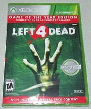 Left 4 Dead GOTY for Xbox 360 Brand New, Factory Sealed! Fast Shipping!