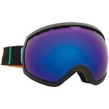 Electric Visual EG2 Color Wordmark Snowboarding Goggles (Brose / Blue Chrome)