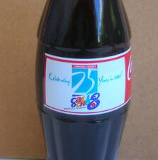 Coca Cola Coke Bottle 25th Anniversary 2003 Calle 8 Carnival Miami FULL MINT