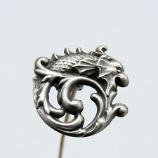 Antique Sterling Serpent or Dragon Hat Pin, Hatpin, Nr