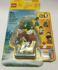 Lego 40373 Fairground Accessory M-F Set ~ NEW~ 4 minifigures & Teddy Bears!