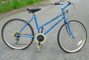 """Fuji UP Beat Ladies Bicycle Blue Rebuilt 18"""" through"""