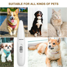 New listing Popetpop Adjustable Pet Paw Hair Clipper Usb Rechargeable Pet Hair Grooming Kit