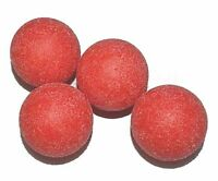 Red Rough Surface Foosball Table Balls - Set of 4