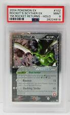 Pokemon EX Team Rocket Returns Rocket's Scyther 102/109 PSA 9 Mint #28224818