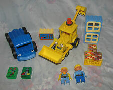 Lego Duplo Bob The Builder Lot - Bob, Wendy, Parts to Lofty, Scoop, Bricks, etc