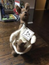 R. John Wright Dolls Winnie The Pooh Collection Jointed Kanga & Roo 220 of 1000