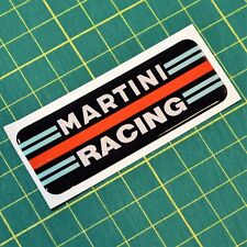 Martini Racing Domed Vintage Motorsport Sticker - 2
