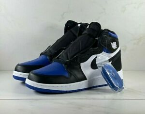 Nike Air Jordan 1 Retro High Royal Toe GS 575441-041 Size 7Y FREE SHIPPING