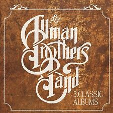 Allman Brothers Band FIVE CLASSIC ALBUMS Box Set EAT A PEACH Idlewild NEW 5 CD