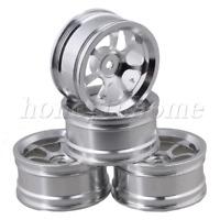 4P Silver Wheel Rim with 7-Spoke Aluminium Alloy DIA 52mm for RC1:10 On-road Car