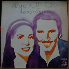 ART AND DOTTY TODD CHANSON D'AMOUR US PRESS  LP