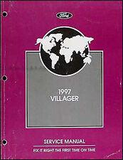 1997 Mercury Villager Original Repair Manual 97 GS LS
