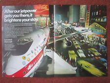 7/1971 PUB UNITED AIRCRAFT PRATT WHITNEY JT9D BOEING 747 NEW-YORK AIRLINES AD