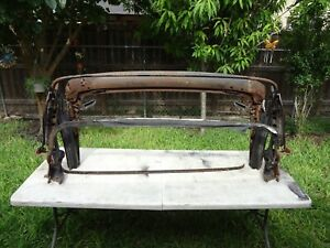 1969 70 71 72 CHEVROLET CHEVELLE GTO 442 GS CONVERTIBLE TOP RACK FRAME ASSEMBLY