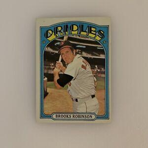 1972 Topps Baseball Card Brooks Robinson # 550 Baltimore Orioles HOF