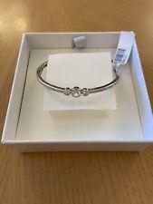 Ti Sento Milano Diamond Silver Bangle Bracelet - BRAND NEW - RRP £149