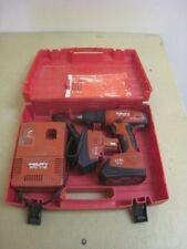 Hilti SF 121-A 12v Variable Speed Cordless Drill w/2 Batteries/Chgr & Case